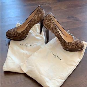 Cole Haan Calf Hair Pumps Size 7.5